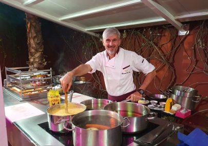 La cucina veneta a Marrakech