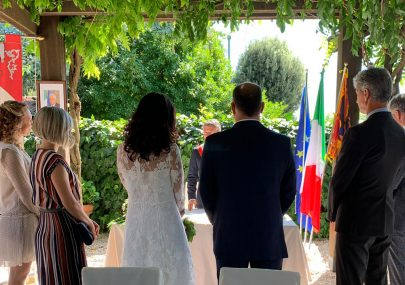 Rito civile in location Matrimonio